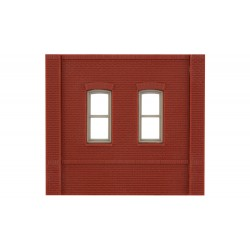 WLS-DPM30133 Dock Level Rectangular Window Wall (x4)