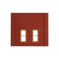 WLS-DPM30134 Street Level Rectangular Window Wall (x4
