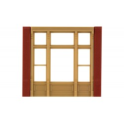 WLS-DPM30142 Street Level Victorian Window (x4)
