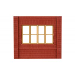 WLS-DPM30143 Dock Level Victorian Window Wall (x4)