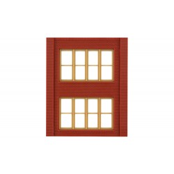 WLS-DPM30144 Two-Storey Victorian Window Wall (x4)