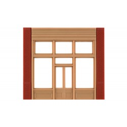 WLS-DPM30161 Street Level 20th Century Entry Door (x4