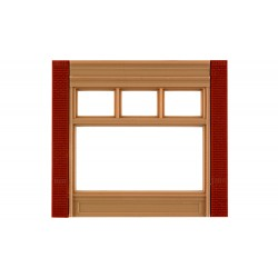 WLS-DPM30162 Street Level 20th Century Window Wall (x