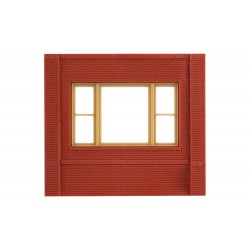 WLS-DPM30163 Dock Level 20th Century Window Wall (x4)