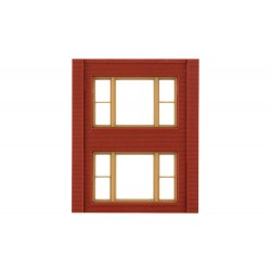 WLS-DPM30164 Two-Storey 20th Century Window Wall (x4)