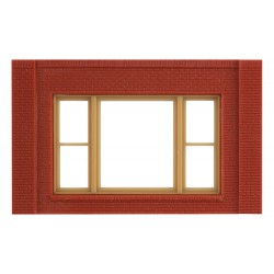WLS-DPM30167 Single Storey 20th Century Window Wall (