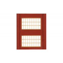 WLS-DPM30174 Two-Storey Steel Sash Window (x4)