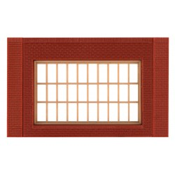 WLS-DPM30175 Single Storey Steel Sash Window (x4)