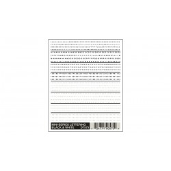 WLS-DT575 Mini-Series Lettering Black & White