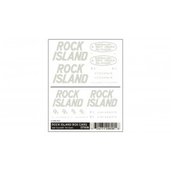WLS-DT606 HO Rock Island Box Car Soft Touch/DF