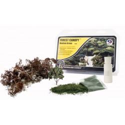 WLS-F1664 Medium Green Forest Canopy