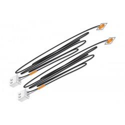 WLS-JP5736 Orange Stick-on LED Lights