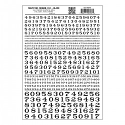 WLS-MG707 Numbers Roman R.R. Black