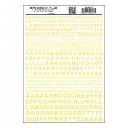 WLS-MG724 Gothic R.R. Yellow