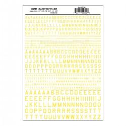 WLS-MG742 45° USA Gothic Yellow