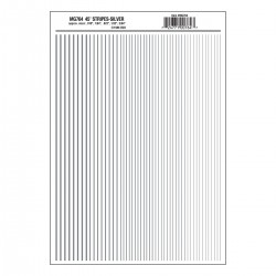 WLS-MG764 Stripes Silver