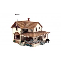 WLS-PF5196 HO Corner Porch House