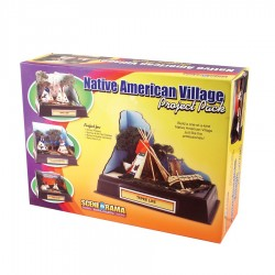 WLS-SP4280 Native American Village Project Pack