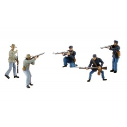WLS-SP4445 American Civil War Soldiers