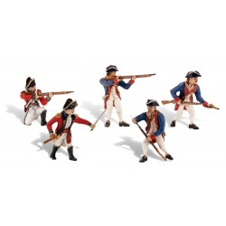 WLS-SP4454 Revolutionary War Soldiers