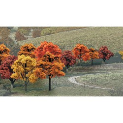 "WLS-TR1577 MIX. FALL DEC. 3-5"" 14PC"