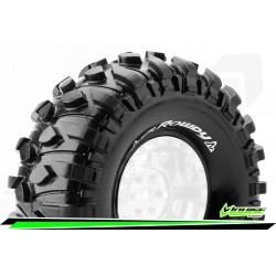 LR-T3233VI Louise RC - CR-ROWDY - Jeu de pneus Crawler 1-10 - Super Soft - pour Jantes 1.9I
