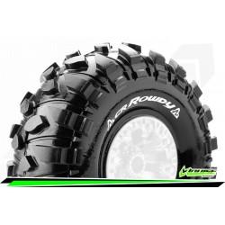 LR-T3238VI Louise RC - CR-ROWDY - Jeu de pneus Crawler 1-10 - Super Soft - pour Jantes 2.2