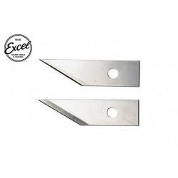 EXL20059 Outil - Lames de cutter - Lames Dual Flex (2 pces) - Pour cutter 70031 K31 Dual Flex
