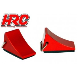 HRC25209 Body Parts - 1/10 Crawler - Scale - Tires Mats - Red