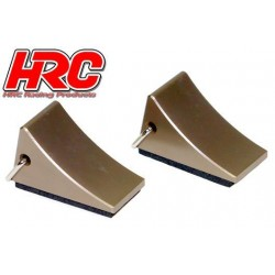 HRC25207 Body Parts - 1/10 Crawler - Scale - Tires Mats - Titanium