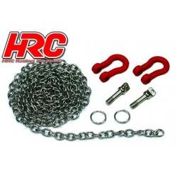 HRC25203 Body Parts - 1/10 Crawler - Scale - Metal Hinge Ring