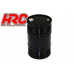 HRC25221BK Body Parts - 1/10 Crawler - Scale - Aluminium - Oil Drum - Black