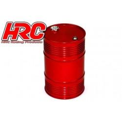 HRC25221RE Body Parts - 1/10 Crawler - Scale - Aluminium - Oil Drum - Red