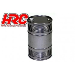 HRC25221TI Body Parts - 1/10 Crawler - Scale - Aluminium - Oil Drum - Titanium