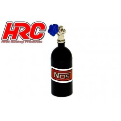 HRC25223BK Body Parts - 1/10 Crawler - Scale - Nitrogen Tank - Black