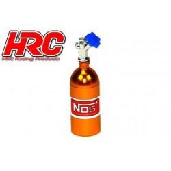 HRC25223GD Body Parts - 1/10 Crawler - Scale - Nitrogen Tank - Gold