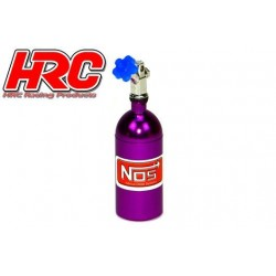 HRC25223PU Body Parts - 1/10 Crawler - Scale - Nitrogen Tank - Purple