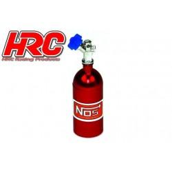 HRC25223RE Body Parts - 1/10 Crawler - Scale - Nitrogen Tank - Red