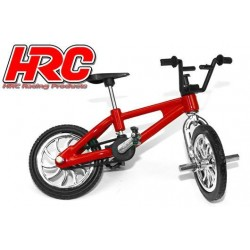 HRC25225RE Body Parts - 1/10 Crawler - Scale - Bike - Red