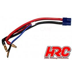 HRC9151E Câble Charge & Drive - Prise gold 4mm à prise EC3 & Balancer