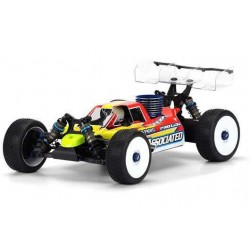 PL3450-17 Carrosserie - 1/8 Buggy - Transparente - Predator - Pré-coupé - Associated RC8B3