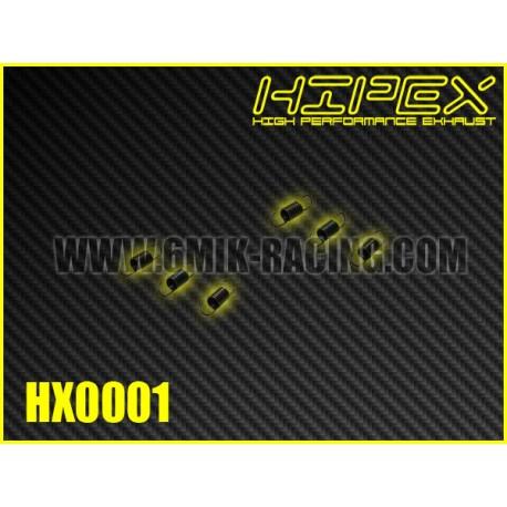 HX0001 Ressorts d'échappement court (6 Pcs)