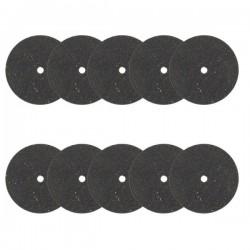RAB5209/10 Set 10 disques à tronçonner 22 mm