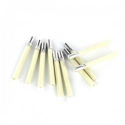 PBU1019/2/10 Set 10 rech. fibre de verre, 4 mm