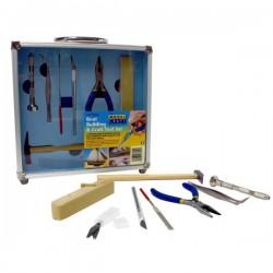 PTK1012 Ensemble d'outils de construction de bateaux 12 pièces