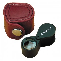 POP1490/B Jewelers Loupe Double Lens Mag.10x