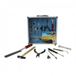 PTK1013 Ensemble d'outils de construction ferroviaire 13Pc