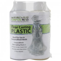 CMCP8 Clear Casting Plastic 8oz(236ml)kit