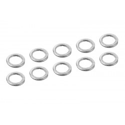 C-00100-066 Team Corally - Alum. Shim Ring - ID 3mm - OD 4mm - 0.5mm - 10 pcs