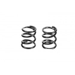 C-00100-106 Team Corally - Front Spring Coils - Black 0.5mm - Medium - 2 pcs
